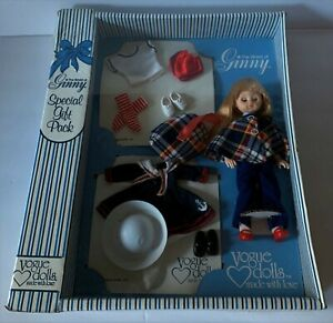 1980 Vogue WORLD OF GINNY DOLL Special Gift Pack WARDROBE 3 Outfits SEALED NRFB