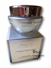 AVON Anew Clinical Hydra Recovery Overnight Mask Sensitive Skin No Paraben 50ml