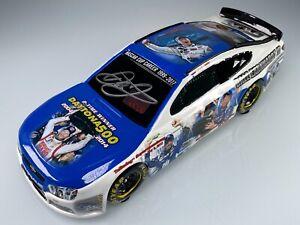 Dale Earnhardt Jr. NASCAR Winning Moments Autographed Collage 1:18 Resin Car