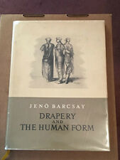 Drapery and the Human Form Jeno Barcsay 1st Edition Free Shipping