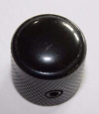 Metall Knopf Dome Domeknopf Reglerknopf Potiknopf schwarz sw Einlage Inlay