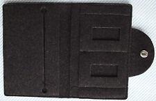 Wool felt wallet grey Loehnert Industriebedarf  Lohnert