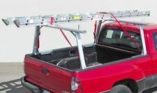 Aluminum Truck Utility Ladder Rack for Tundra, Tacoma with Cargo Tracks