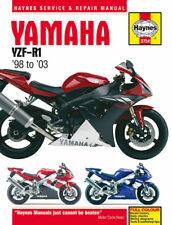 Yamaha YZF-R1 YZFR1 R1 1998-2003 Haynes Manual 3754 NEW
