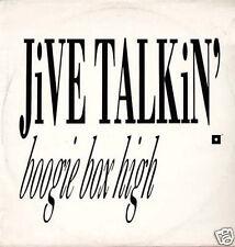 BOOGIE BOX HIGH - Jive Talkin' / Rhythm Talkin'