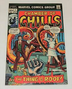 Marvel Comics CHAMBER of CHILLS #3  Monster Cover!  in Solid High Grade VF/NM