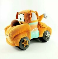 """Disney Pixar Gund Tow Mater Plush Towtruck Character Cars Movie 11"""" Stuffed Toy"""