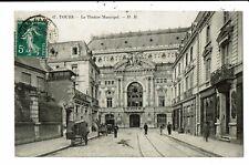 CPA-Carte Postale-France-Tours- Théâtre municipal en 1908? VM6705