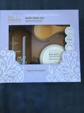 By Nature Lavender and Shea Butter Aromatherapy Bath Kit, 3 Piece Set