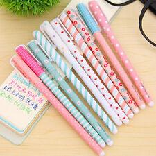 Colorful Gel Pen Set Kawaii Korean Stationery Creative Gift School Supply 10 Pc