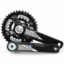FSA Comet Modular BB30 Mountain Bike 2x Crankset 38/24T 11 Speed 175mm// Black