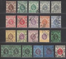 Hong Kong 1921-37 King George V Part Set to $2 Used