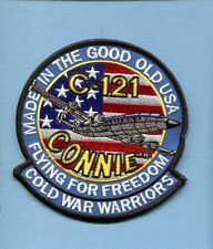 LOCKHEED C-121 CONNIE CONSTELLATION USAF MAS AS Squadron Aircraft Jacket Patch