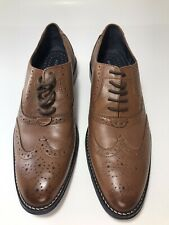 Mens Hush Puppies Wingtips Leather Size 8 EUC