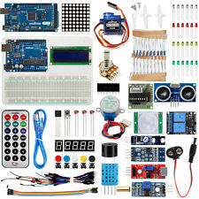 Arduino DIY Kit UNO R3 + Mega2560 Board Various Sensors for Projects