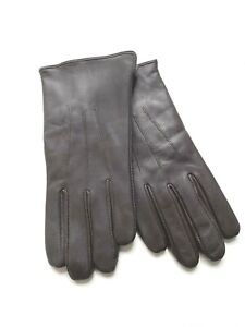3M Thinsulate Genuine Leather Gloves Women Brown Size 7.5 Winter  Driving