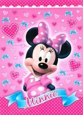 Minnie Mouse Birthday Party Supplies Loot Lolly Treat Bags Pack of 8