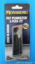 Mossberg 702 Plinkster 10 RD Round Magazine 22 LR Genuine Clip Mag NEW 95702