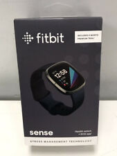 Brand New Fitbit Sense Advanced Activity Tracker Smartwatch - Carbon/Graphite