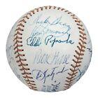 Vintage 1975 Boston Red Sox AL Champs Team Signed Baseball Carl Yastrzemski JSA
