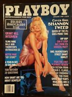 Vintage 1998 Playboy Holiday Anniversary Issue featuring Shannon Tweed!!!