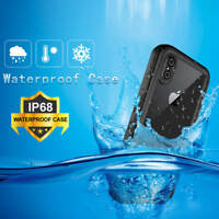 360° IP68 Full Sealed Waterproof Armor Case Bumper Shell Cover For iPhone XS Max