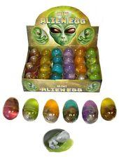 24 X Alien Embrión Bebé HUEVO Goo Partido Birthpod Bolsa Filler favor Goodie Loot Toys