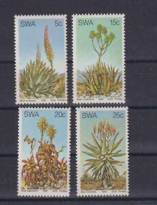 Südwestafrika: Nr. 504-507 ** postfrisch / Aloen