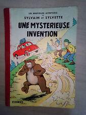 sylvain et sylvette une mysterieuse invention EO cartonnée 1965