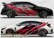 Honda Civic Rally 003 racing motorsport graphics stickers decals vinyl
