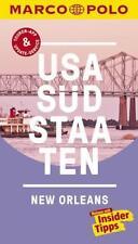 MARCO POLO Reiseführer USA Südstaaten  New Orleans (2017, Taschenbuch)