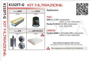Set Service Ydea Fiat Panda III 1.2 LPG