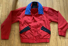 """VINTAGE HELLY- HANSEN  """"LIFA""""  FULL-ZIPPERED JACKET SIZE LARGE W/ DUAL COLLARS"""