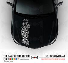 "30"" NAME OF THE DOCTOR WHO IN GALLIFREYAN Tardis Hood Car Vinyl Sticker Decal"