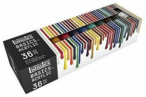 Liquitex BASICS 36 Tube Acrylic Paint Set 22ml