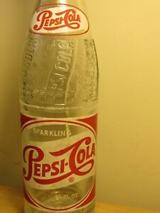 OLD 1950's PEPSI-COLA BOTTLE ACL LABEL - NEW YORK, NEW YORK