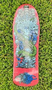 NOS Santa Cruz Jason Jessee Neptune Reissue Skateboard Deck
