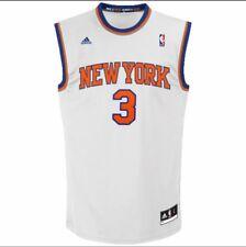 JOSE Calderon di New York Knicks Adidas Home Jersey Large-White 100% AUTENTICO
