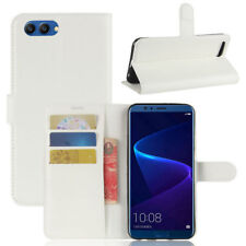 Cover Wallet Premium White For Huawei Honor View 10/V10 Case NEW