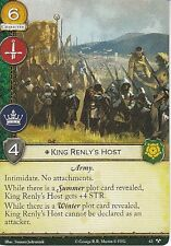 3 x King Renly's Host AGoT LCG 2.0 Game of Thrones There Is My Claim 63
