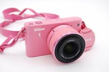 NIKON 1 J1 10.1 MP 3''Screen Camera with 10-30mm 1/3.5-5.6 VR Lens PINK