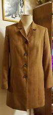 Vintage Norm Thompson Womens Suede Coat Size 6