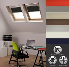 Blackout Skylight Roller Blinds for VELUX Roof Windows All Sizes Child Safe Black Ggl/gul/gfl/gpl F06
