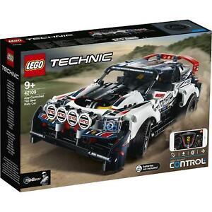 42109 LEGO TECHNIC AUTO DA RALLY TOP GEAR TELECOMANDATA ETA 9+ PZ. 463 SIGILLATO