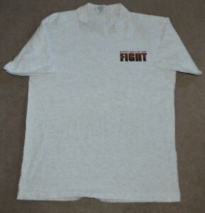 VTG Boxing Hall of Fame Fight Night Shirt Large Made in USA Canastota New York