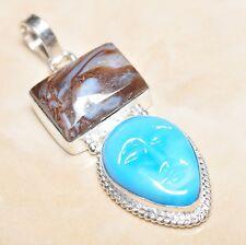 artigianale blu calcedonio quarzo, pietra preziosa