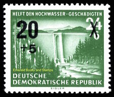 EBS East Germany DDR 1955 Aid for Flood Victims Michel 449 MNH**