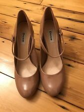 Dune Nude Shoes Size 7