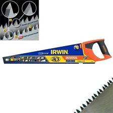 """Irwin Universal Jack 880 Triple Ground 22"""" Panel Saw 22 Inch Hand Saw Wood Saw"""