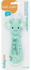Baby Safe Bath Thermometre Float Floating Water Temperature - Giraffe Turquoise